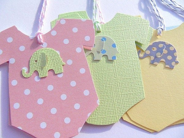 Baby Shower Gift Tag Unique Baby Esie Gift Tags Baby Shower Gift Tags Esie Wish