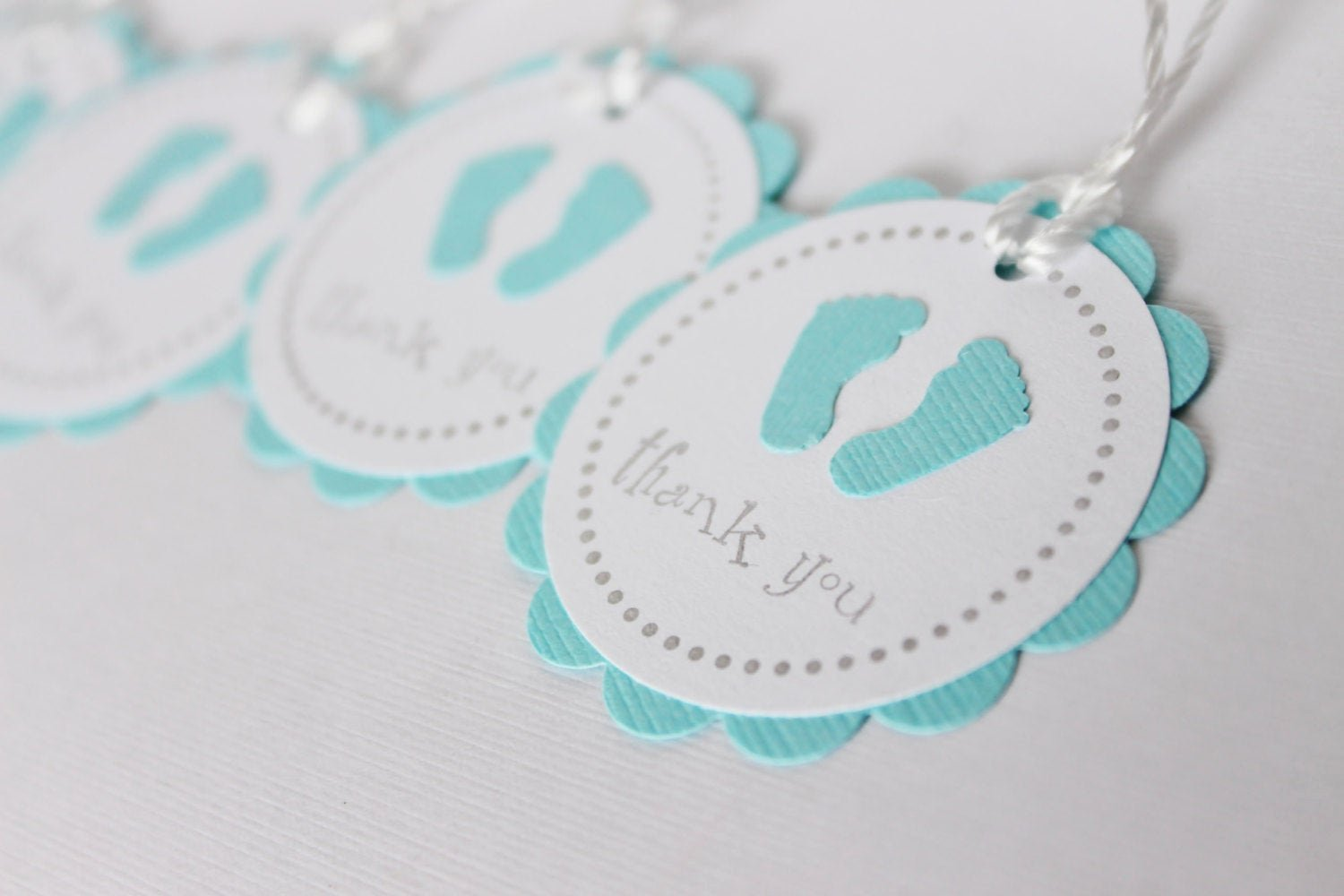 Baby Shower Gift Tags Inspirational Baby Shower Favor Tags Baby Feet Thank You Tags by Wildbeanlore