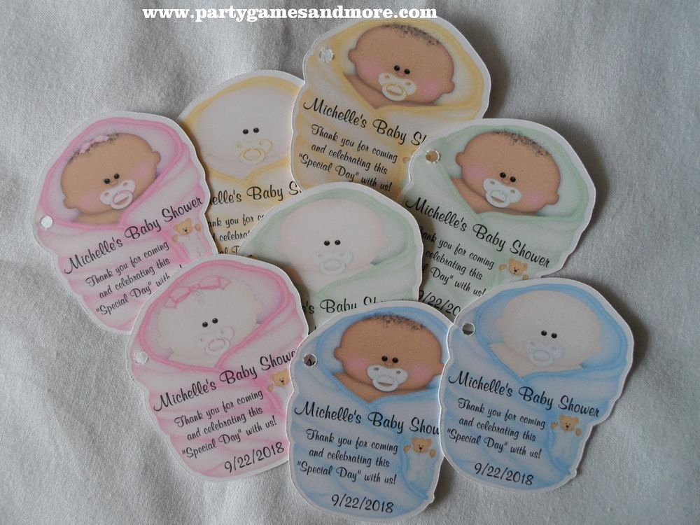 Baby Shower Gift Tags Inspirational Unique Personalized Baby Shower Party Favor Tags Gift Tags