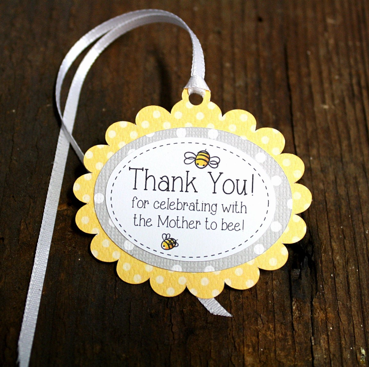 Baby Shower Gift Tags Luxury Bumble Bee themed Baby Shower Tag Personalized Gift Tags or