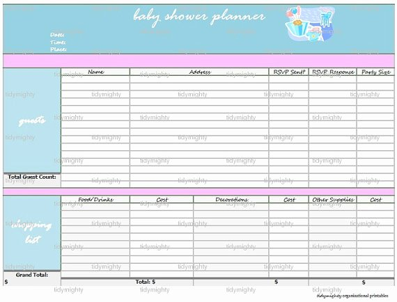 Baby Shower Gift Tracker Best Of Baby Shower Gift Tracker