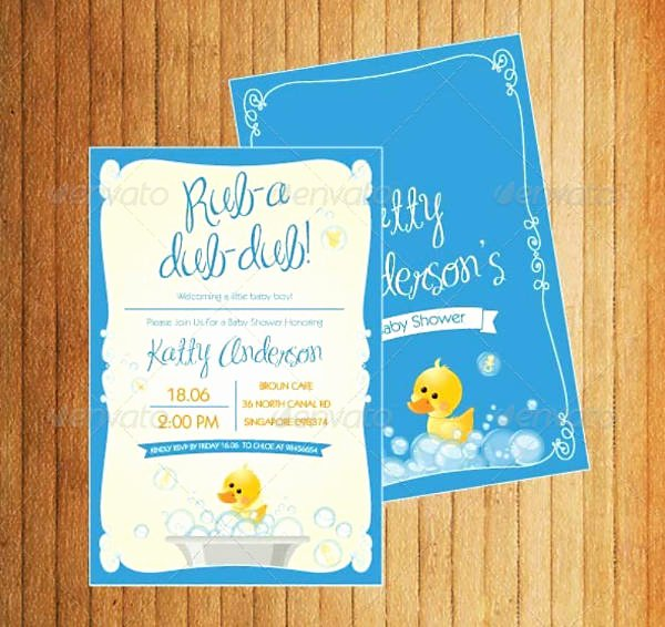 Baby Shower Invitation Psd Beautiful 16 Baby Shower Invitation Templates for Boys Psd Ai