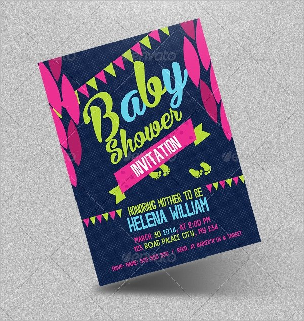 Baby Shower Invitation Psd Best Of 25 Sample Baby Shower Invitations Word Psd Ai Eps