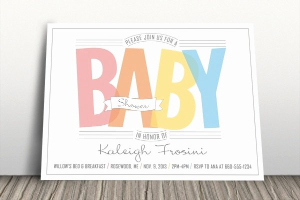 Baby Shower Invitation Psd Best Of 26 Baby Shower Invitation Designs & Creatives Word Psd