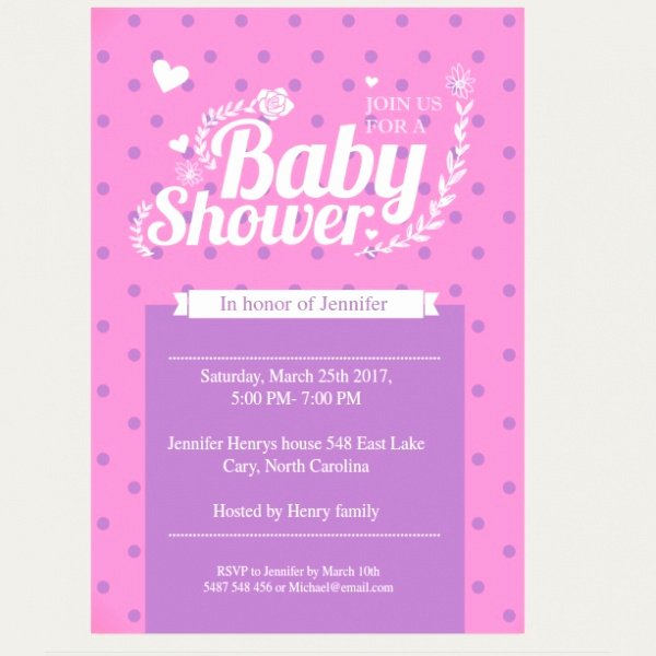 Baby Shower Invitation Psd Inspirational 25 Printable Baby Shower Invitations Word Psd Ai Eps