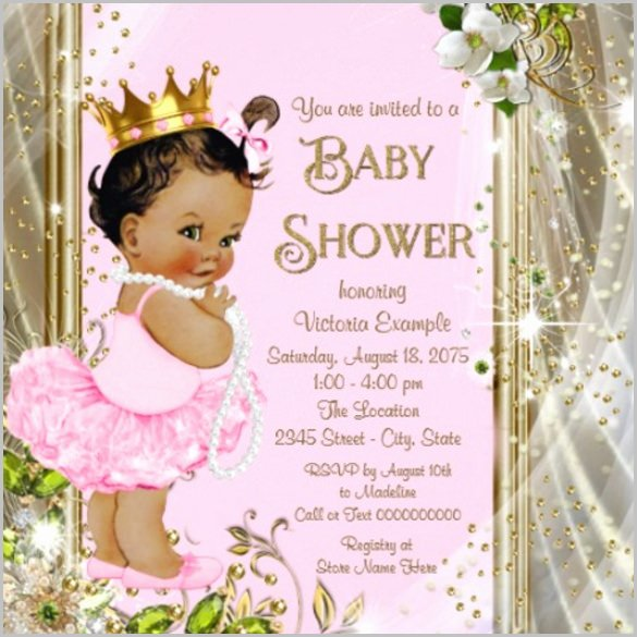Baby Shower Invitation Psd Inspirational Baby Shower Invitation Template 29 Free Psd Vector Eps All