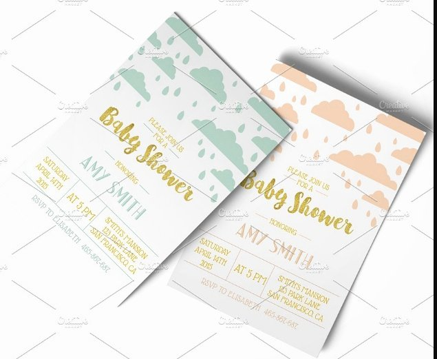 Baby Shower Invitation Psd Lovely 20 Baby Shower Invitation Template Psd Eps and Ai format