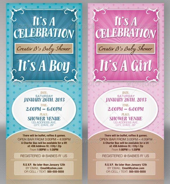 Baby Shower Invitation Psd Lovely 39 Baby Shower Invitation Templates Psd Vector Eps Ai