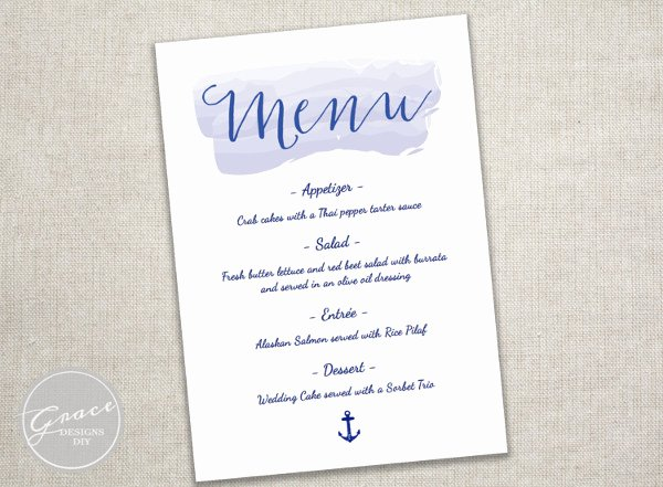 Baby Shower Menu Cards Luxury 8 Baby Shower Menu Templates Psd Vector Eps Ai Illustrator Download