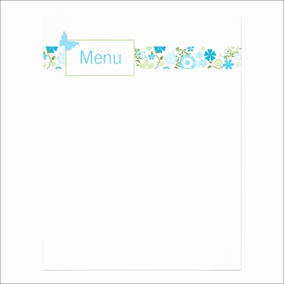Baby Shower Menu Template Elegant 8 Baby Shower Menu Templates Psd Vector Eps Ai Illustrator Download