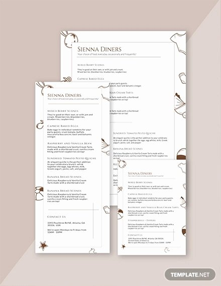 Baby Shower Menu Template Fresh 10 Baby Shower Menu Designs Psd Ai Docs Pages