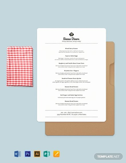 Baby Shower Menu Template Luxury Free Baby Shower Menu Template Download 144 Menus In Psd Word Publisher Indesign