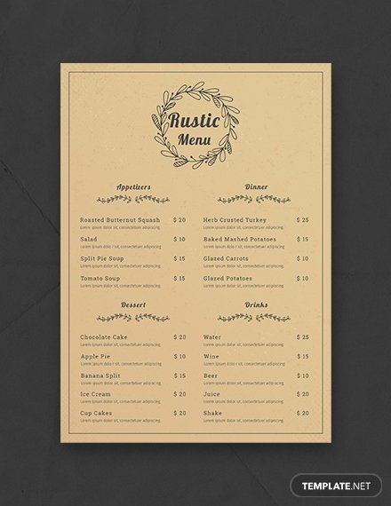 Baby Shower Menu Templates Best Of Free Baby Shower Menu Template Download 36 Menus In Psd Word Publisher Indesign