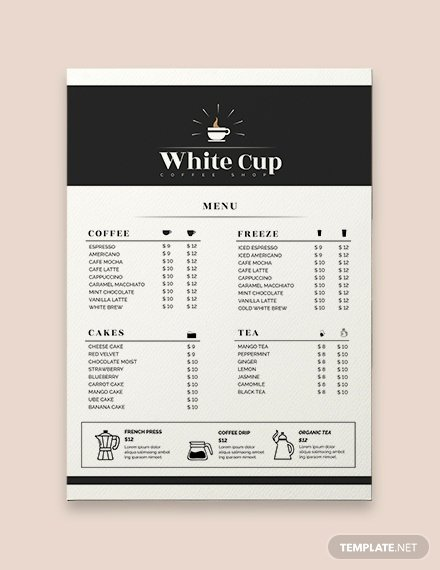 Baby Shower Menu Templates Fresh Free Baby Shower Menu Template Download 36 Menus In Psd Word Publisher Indesign