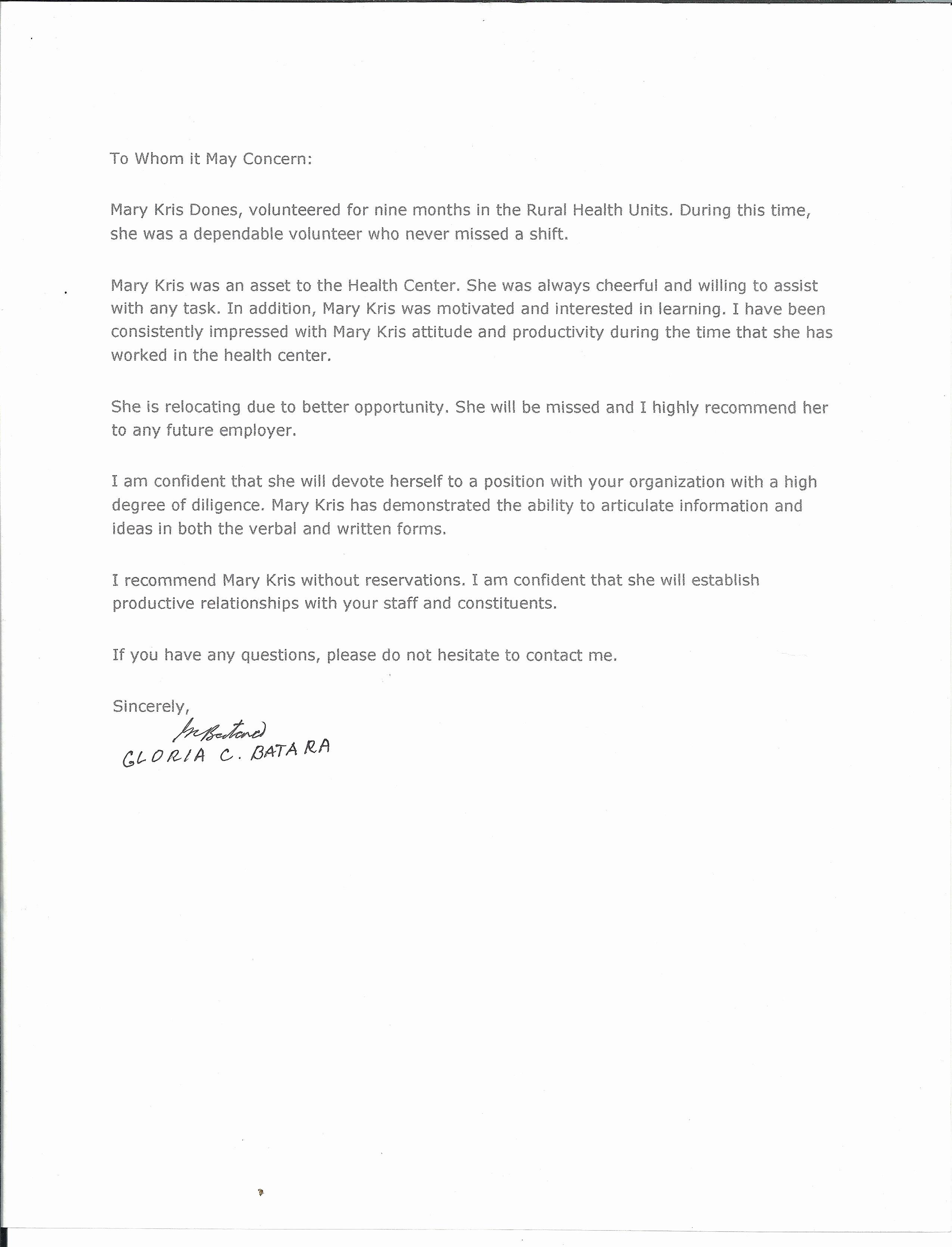 Babysitter Letter Of Recommendation Inspirational Nanny Re Mendation Letter Cover Letter Exle Reference Letter