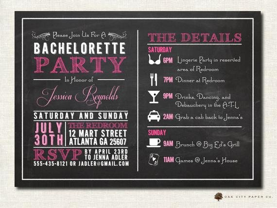 Bachelorette Party Itinerary Template Unique 301 Moved Permanently