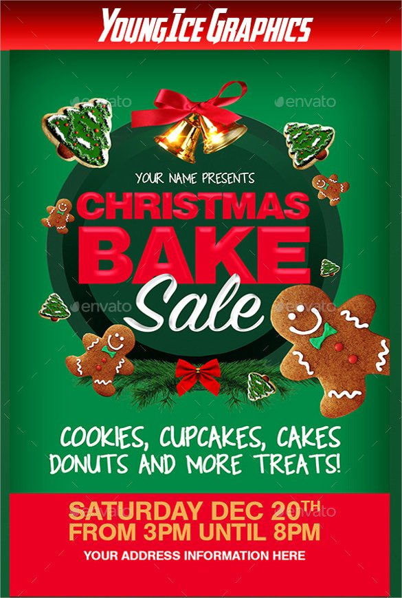 Bake Sale Flyer Template Best Of 24 Bake Sale Flyer Templates Indesign Apple Pages Illustrator