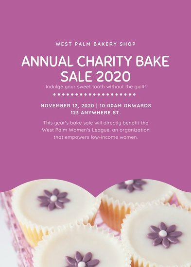 Bake Sale Flyer Template Best Of Customize 314 Bake Sale Flyer Templates Online Canva