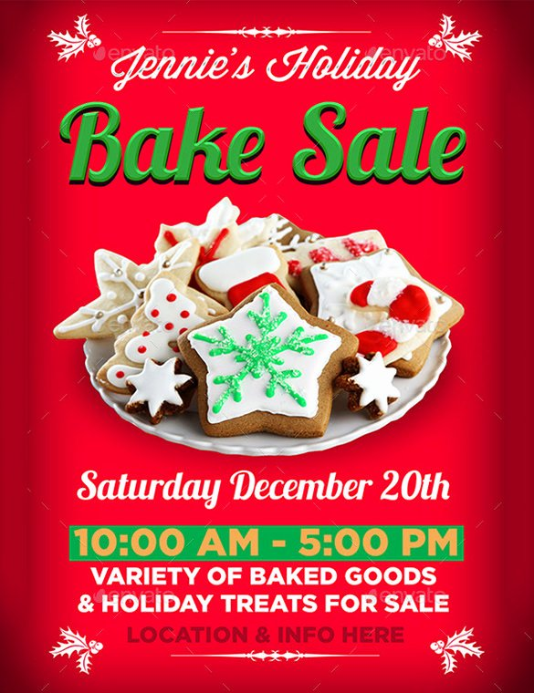 Bake Sale Flyer Template Free Beautiful 33 Bake Sale Flyer Templates Free Psd Indesign Ai