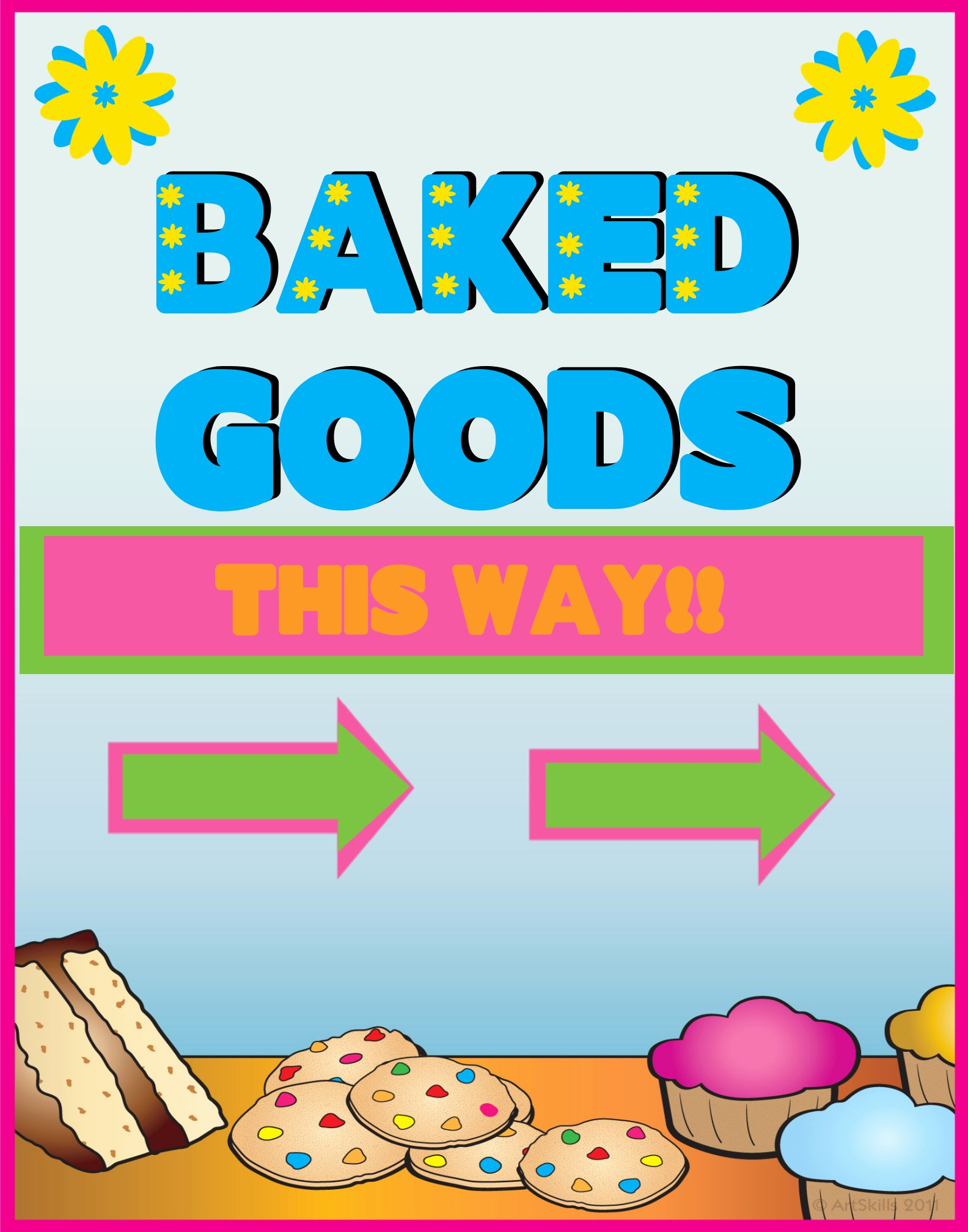 Bake Sale Flyer Template Free Best Of Free Free Printable Bake Sale Flyers Download Free Clip