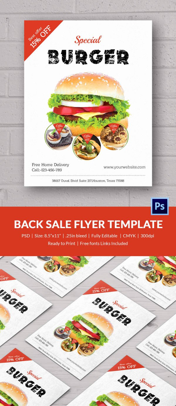 Bake Sale Flyer Template Free Elegant Bake Sale Flyer Template 34 Free Psd Indesign Ai