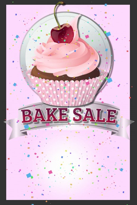 Bake Sale Flyer Template Free Elegant Bake Sale Template