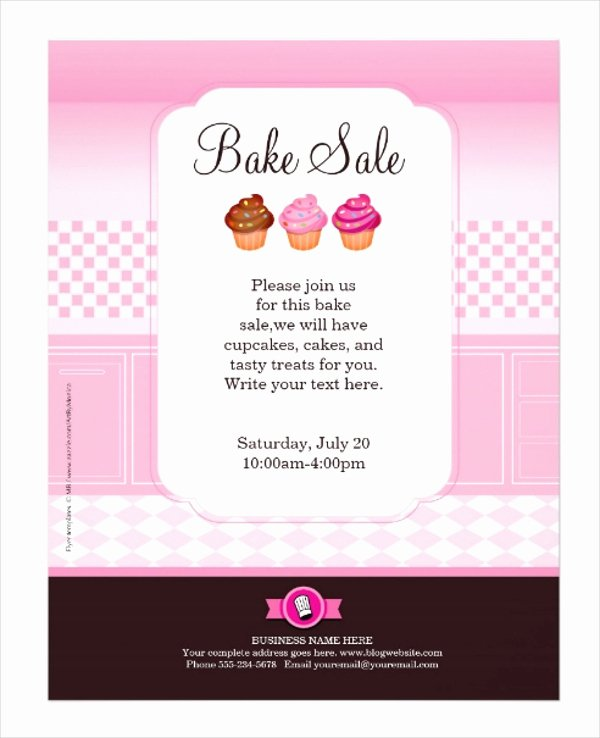 Bake Sale Flyer Template Inspirational 29 Professional Flyer Templates Psd Ai Indesign
