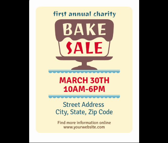 Bake Sale Flyer Template Inspirational Download This Bake Sale Flyer Template and Other Free Printables From Myscrapnook