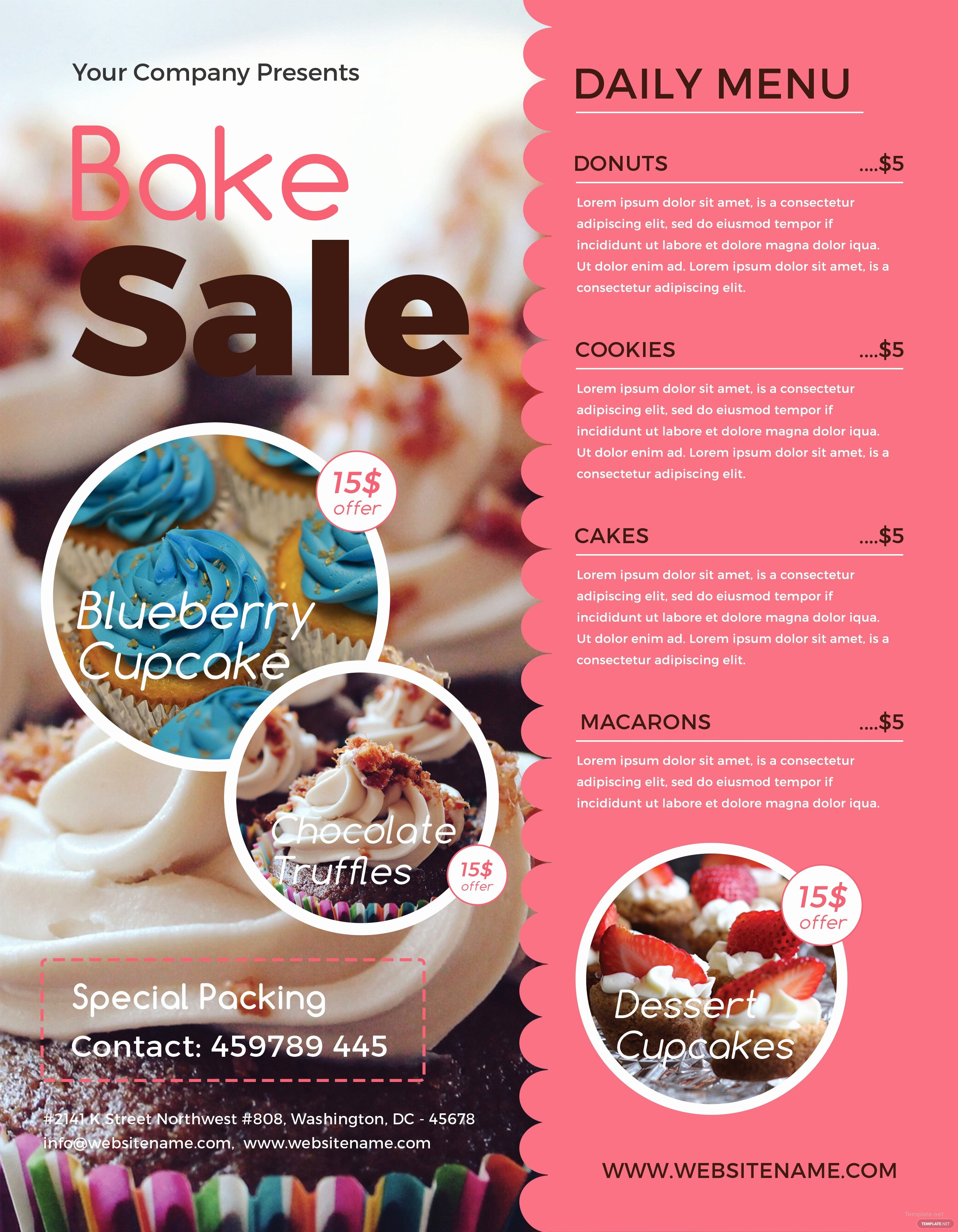 Bake Sale Flyer Template Word Beautiful Free Bake Sale Flyer Template In Adobe Shop Illustrator Microsoft Word Publisher Apple