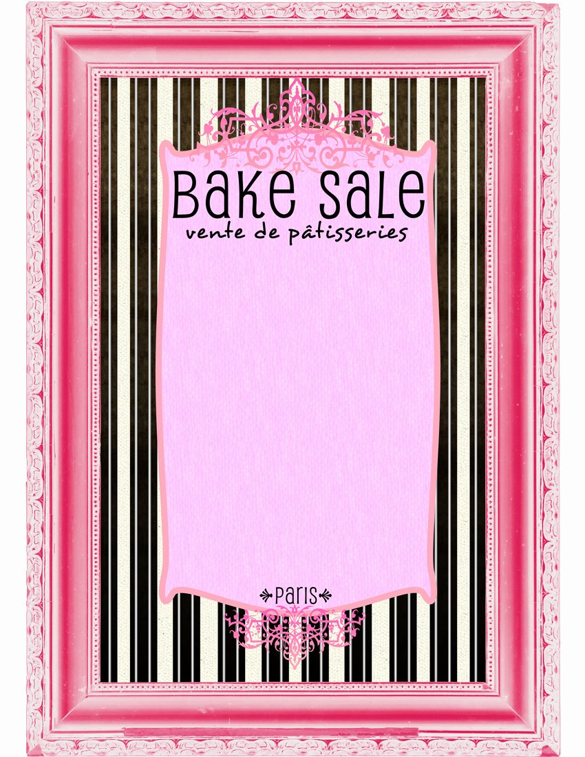 Bake Sale Flyer Templates Free Beautiful Bake Sale Flyers – Free Flyer Designs