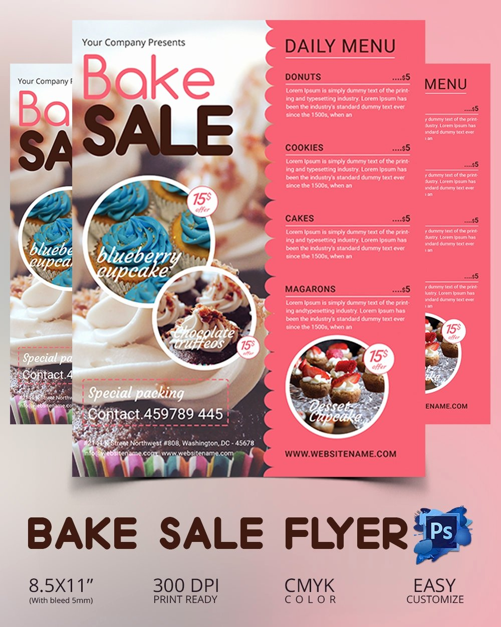 Bake Sale Flyer Templates Free Best Of Bake Sale Flyer Template 34 Free Psd Indesign Ai