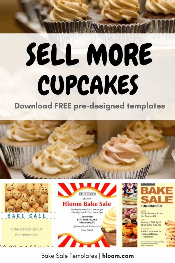 Bake Sale Flyer Templates Free Inspirational 17 Best Images About Bake Sale Flyers On Pinterest