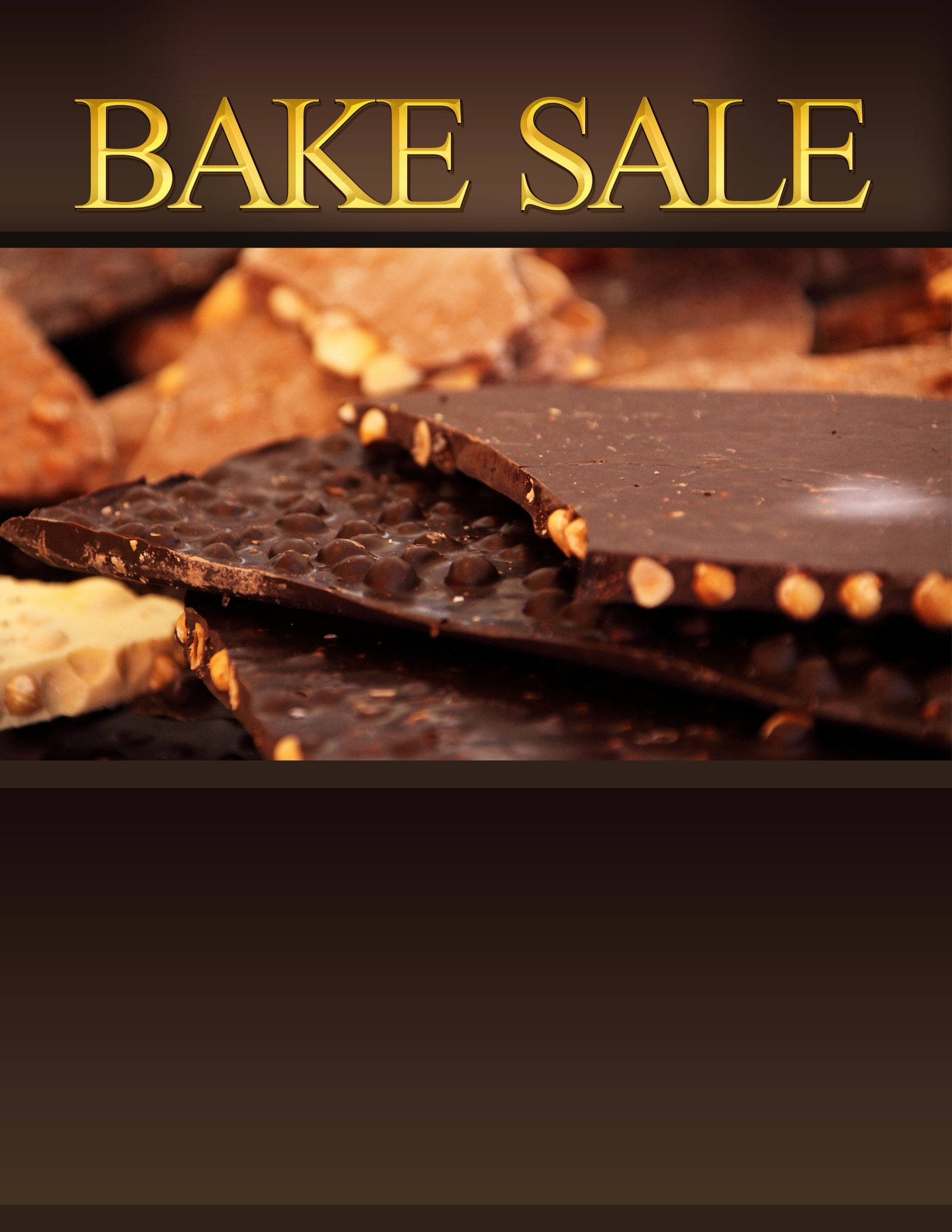 Bake Sale Flyer Templates Free Inspirational Bake Sale Flyers – Free Flyer Designs