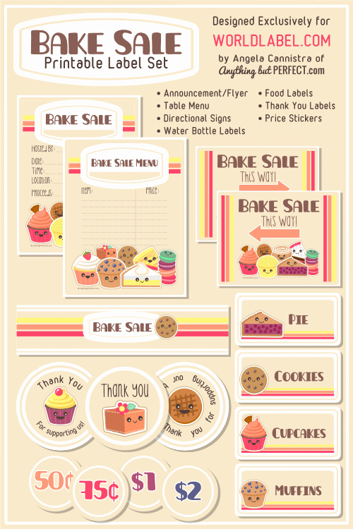 Bake Sale Flyers Templates Free Awesome Homespun with Love Friday Features Creative Inspiration