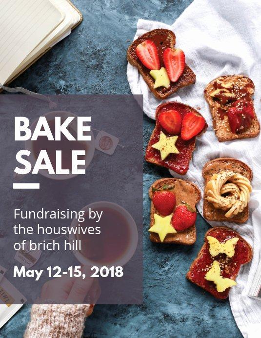 Bake Sale Fundraiser Flyer Template Beautiful Bake Sale Fundraising Flyer Template