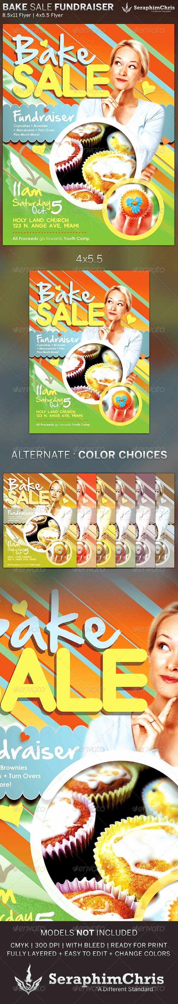 Bake Sale Fundraiser Flyer Template Lovely 15 Best Images About Flyers On Pinterest