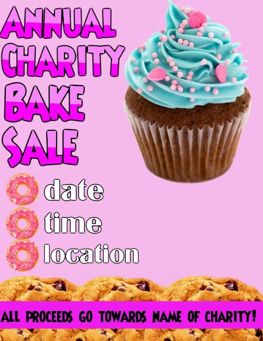 Bake Sale Fundraiser Flyer Template Unique Bake Sale Flyer Template