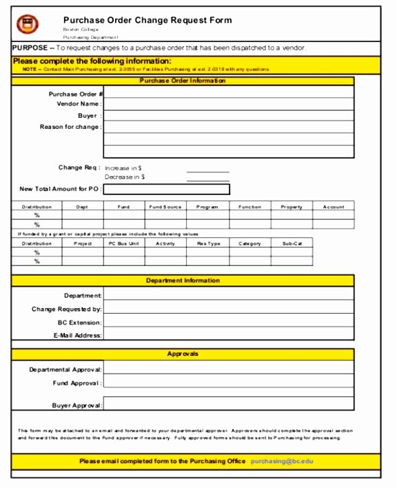 Bank Change order form Elegant 7 Bank Change order form Template Taeew