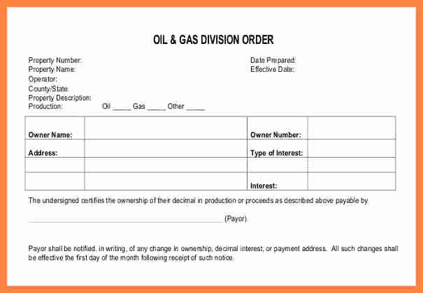 Bank Change order form New 5 Blank order Slip