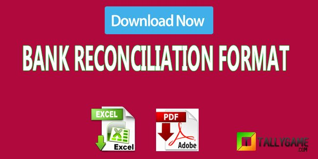 Bank Reconciliation Example Pdf New Bank Reconciliation Statement format In Excel and Pdf Download