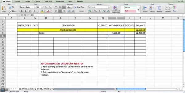 Bank Reconciliation form Excel Luxury Excel Bank Account Template Accounting Spreadsheet Spreadsheet Templates for Busines Check