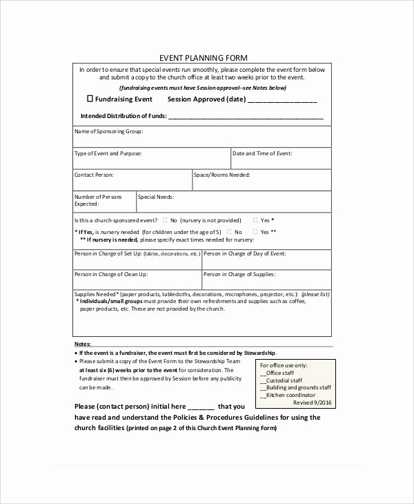 Banquet event order form Lovely Sample event order form 8 Examples In Word Pdf