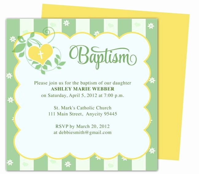 Baptism Invitation Template Microsoft Word Awesome isabella Printable Diy Baby Baptism Invitations Templates Editable with Word Publisher Apple