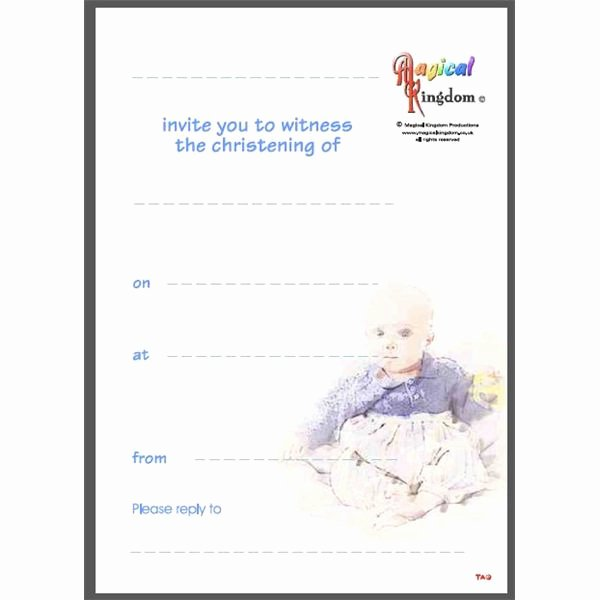 Baptism Invitation Template Microsoft Word Awesome top Nine List Of Sites Fering Free Printable Baptism Invitations