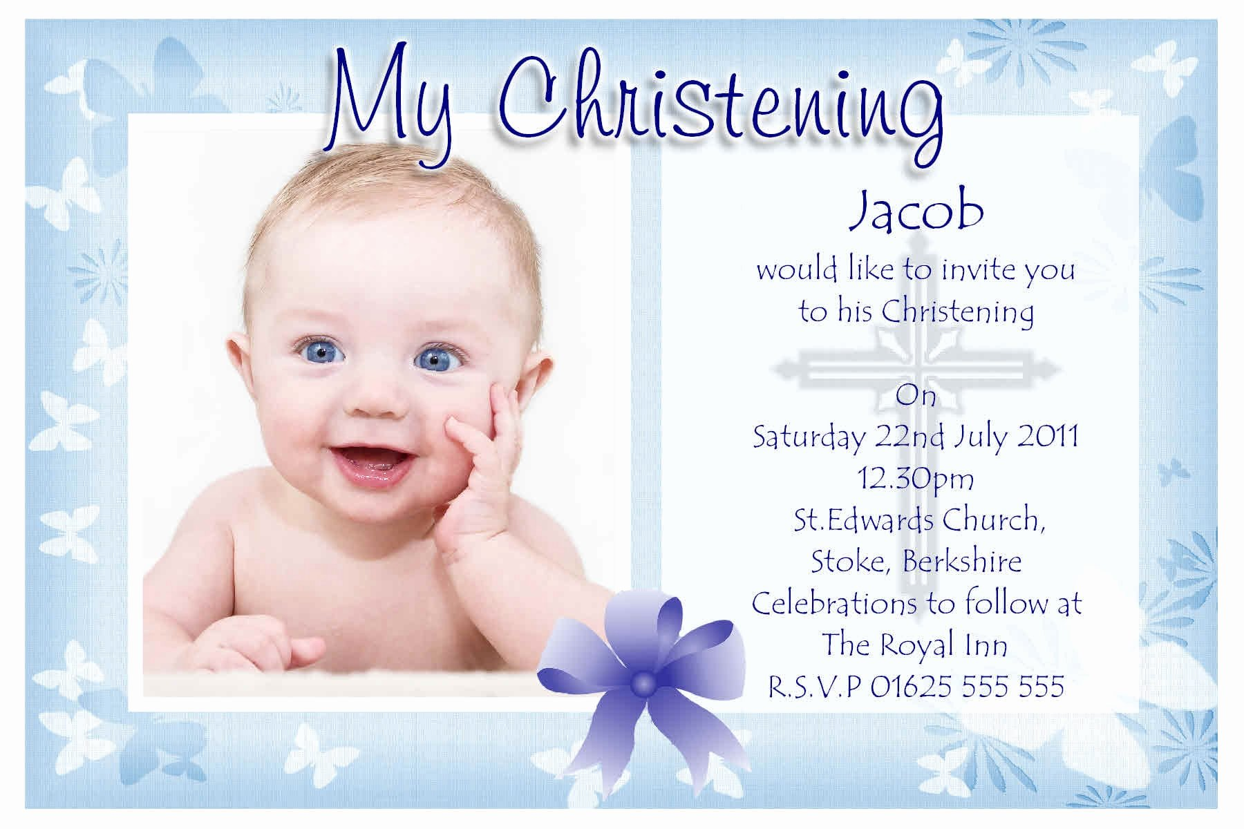 Baptism Invitation Template Microsoft Word Beautiful Free Baptism Invitation Word Template