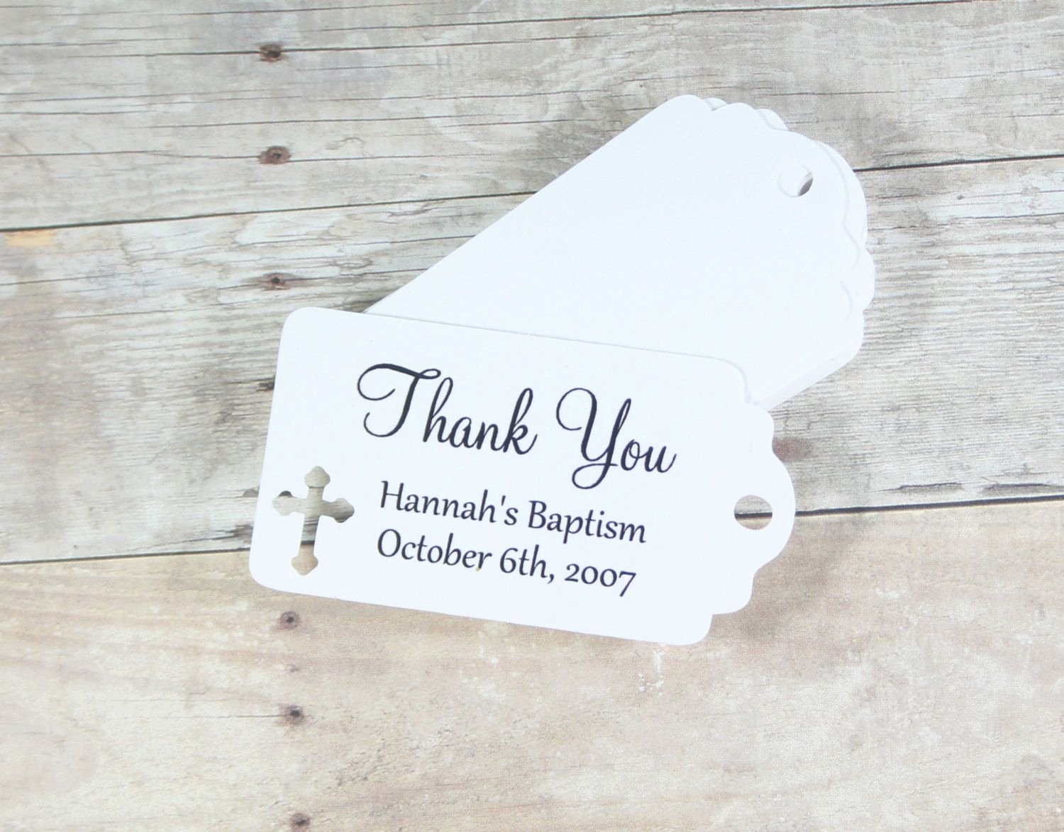 Baptism Thank You Tags Inspirational Small White Baptism Tags Set Of 20 Thank You Tags for Confirmation White Christening Favor