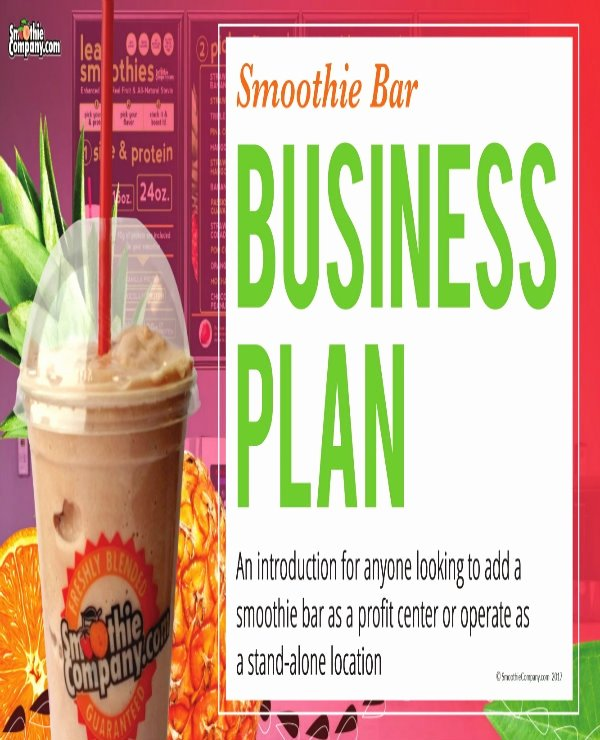Bar Business Plan Pdf New 3 Juice Bar Business Plan Templates Pdf Word