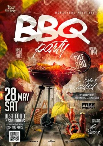 Barbeque Flyer Templates Free Fresh Download Best Bbq Flyer Templates for Shop