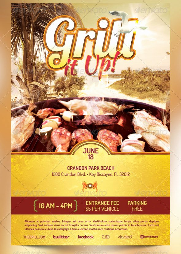 Barbeque Flyer Templates Free Unique Best Barbecue Flyer Templates Seraphimchris Graphic Design and Illustration