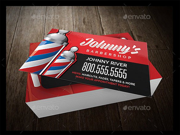 Barber Shop Business Card Awesome 27 Barber Business Card Templates Pages Indesign Word
